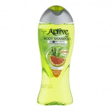شامپو بدن سبز اکتیو 400 گرمی
