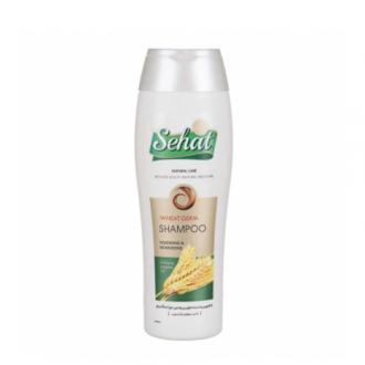 شامپو جوانه گندم موهای نازک و چرب 300 گرمی صحت