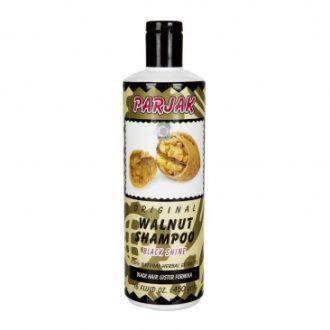 شامپو حاوی عصاره طبیعی گردو مناسب موهای مشکی و تیره 450 گرمی پرژک