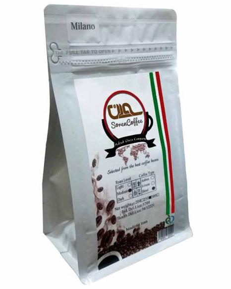 پودر قهوه اسپرسو سورن مدل میلانو