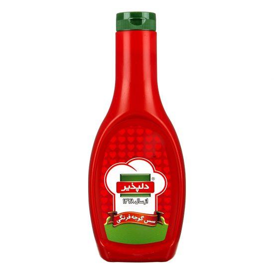 سس گوجه فرنگی 712 گرمی دلپذیر
