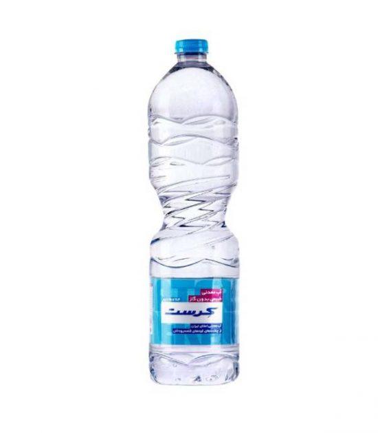 آب معدنی ۱/۵ لیتری کرست