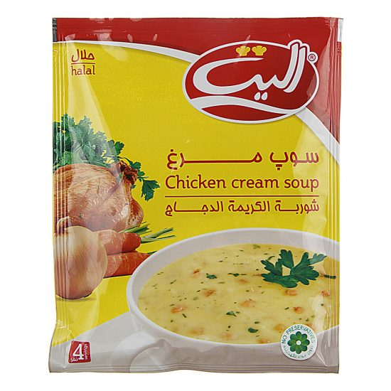 سوپ مرغ الیت 4نفره 61 گرمی