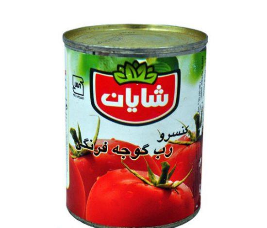 شایان رب گوجه فرنگی 750 گرمی