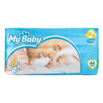 پوشک کامل بچه کوچک (6-3 کیلوگرم) 44 عددی مای بیبی