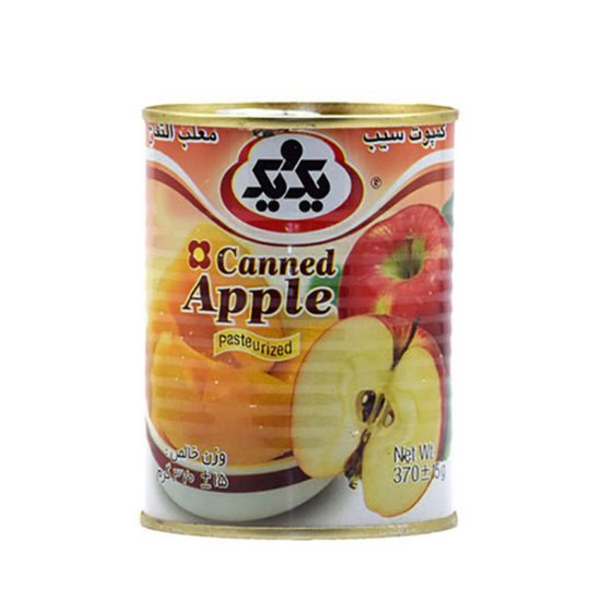 کمپوت سیب با درب آسان بازشو یک و یک 370 گرمی