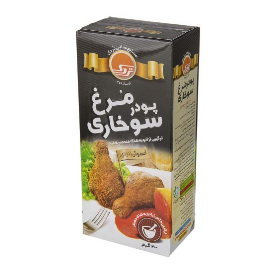 پودر سوخاری مرغ (دودی) 200 گرمی تردک