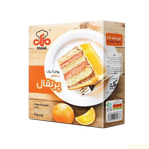 پودر کیک با طعم پرتقال ملک 450 گرمی