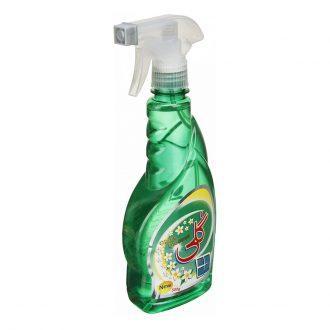شیشه پاک کن سبز 500 گرمی گلی